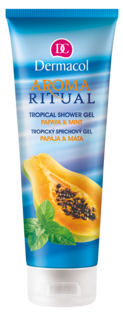 Aroma Ritual Tropical Shower gel Papaya and Mint