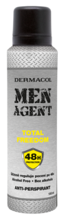 Antitranspirante Men Agent Libertad total